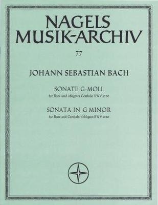 Sonate en sol mineur BWV 1020 / Bach Jean Sébastien / Nagel