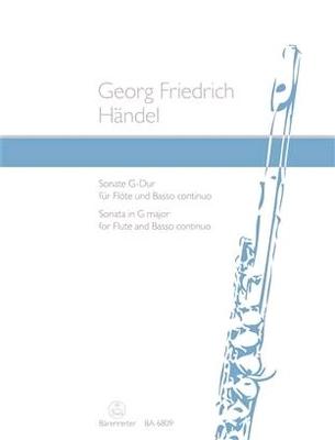 Sonate en sol majeur / Händel Georg Friedrich / Bärenreiter