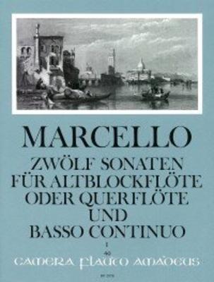 Zwölf Sonaten op. 2 – Band I: Sonaten 1-3 / Marcello Benedetto / Amadeus