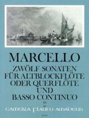 Zwölf Sonaten op. 2 – Band III: Sonaten 7-9 / Marcello Benedetto / Amadeus