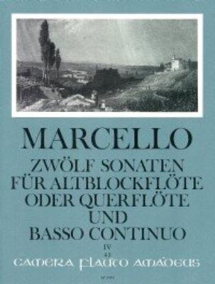 Zwölf Sonaten op. 2 – Band IV: Sonaten 10-12 / Marcello Benedetto / Amadeus