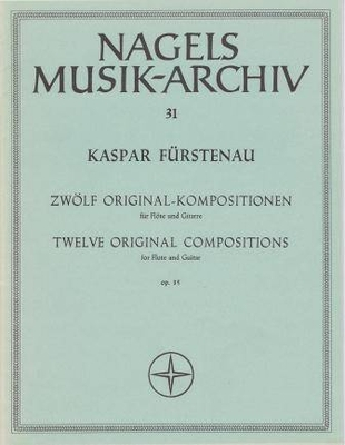 12 compositions originales op. 35 / Fürstenau Kaspar / Nagel