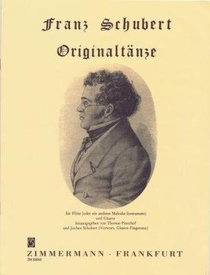 Original Tänze / Schubert Franz / Zimmermann