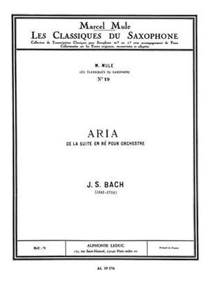 Air de la suite en ré BWV 1068 / Bach Jean Sébastien / Leduc