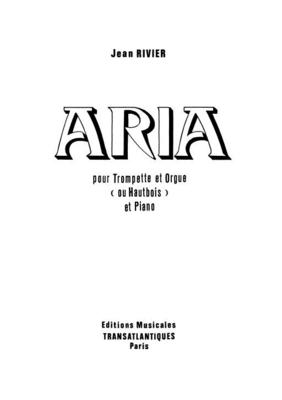 Aria / Jean Rivier / Transatlantiques