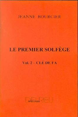 Le premier solfège vol. 2 / Bourcier Jeanne / Delrieu