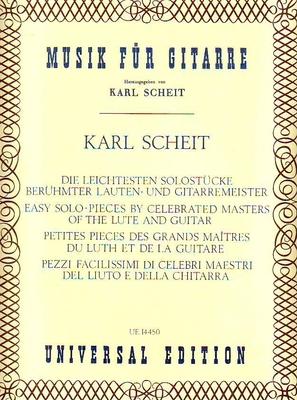Petites pièces des grands maîtres du luth et de la guitare /  / Universal Edition