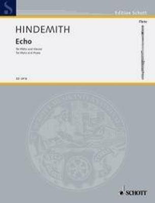Echo / Paul Hindemith / Schott