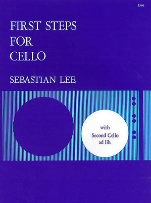 First Steps For Cello Op.101   Lee  2 Cellos Buch  5546 / Lee Sebastian / Stainer & Bell