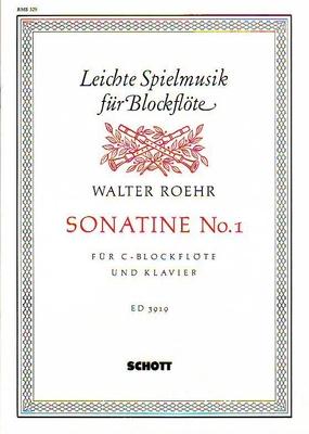 Sonatine no 1 / Walter Roehr / Schott