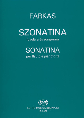 Sonatine  Ferenc Farkas / Farkas Ferenc / EMB Editions Musica Budapest