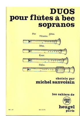 Duos (Michel Sanvoisin) /  / Heugel