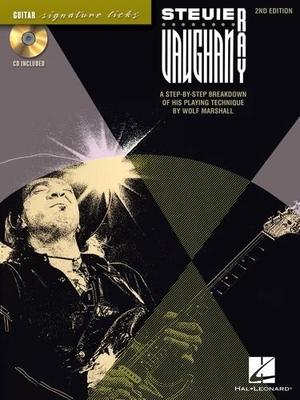 Stevie Ray Vaughan Guitar Signature Licks 2nd Edition / Marshall, Wolf (Author); Vaughan, Stevie Ray (Artist) / Hal Leonard
