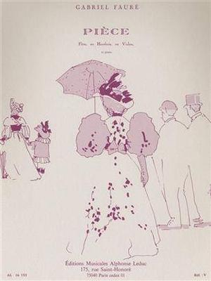 Pièce / Fauré Gabriel / Leduc