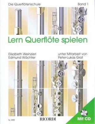 Lern Querflöten spielen vol. 1 / Weinzierl E./Wächter E. / Ricordi