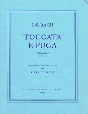 Toccata et fugue en ré mineur pour orgue / Bach Jean Sébastien / Foetisch Frères