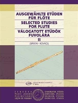 Ausgewählte Etüden für Flöte vol. 2 Vilmos Bntai / Gabor Kovacs / Vilmos Bntai / Gabor Kovacs / EMB Editions Musica Budapest