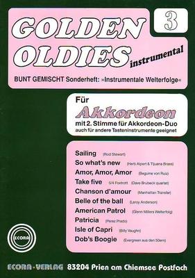 Golden Oldies vol. 3 /  / Ecora