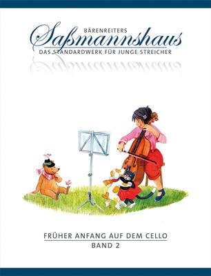 Bärenreiter's Sassmannshaus / Früher Anfang auf dem Cello 2 Eine Violoncelloschule für Kinder ab 4 Jahren Egon Sassmannshaus  Cello Buch  BA9692 / Sassmannshaus Egon / Bärenreiter
