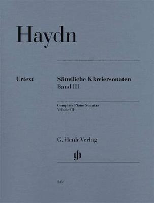 Sonates vol. 3 / Haydn Joseph / Henle