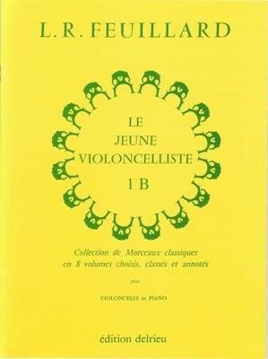Le jeune violoncelliste vol. 1B /  / Delrieu