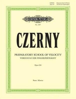 24 petites études de la vélocité op. 636Vorschule Fingerfertigkeit / Czerny Carl / Peters