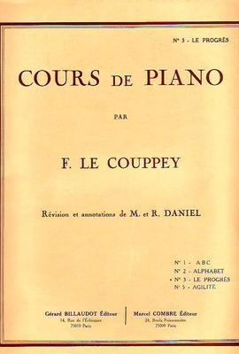 Cours de piano, vol. 3 Le progrès / Le Couppey F. / Billaudot