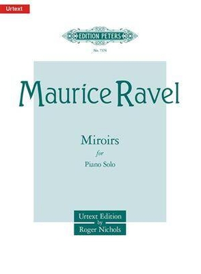 Miroirs / Ravel Maurice / Peters