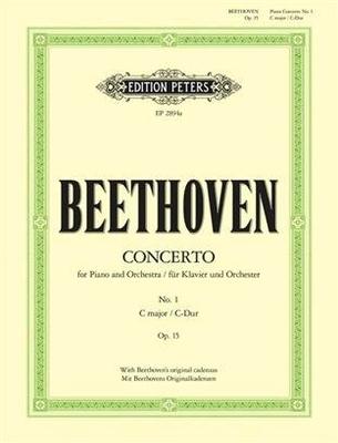 Concerto no 1 en do majeur op. 15 / Beethoven Ludwig van / Peters