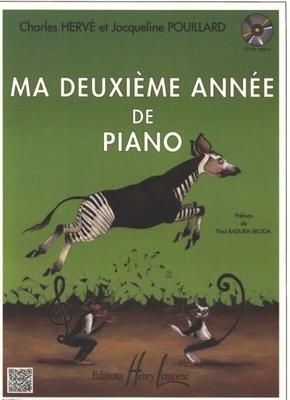 Ma deuxième année de piano / Hervé et Pouillard / Henry Lemoine