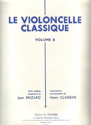 Le violoncelle classique vol. B /  / Combre