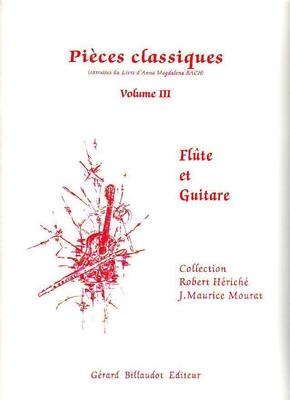 Pièces classiques, vol. 3 /  / Billaudot
