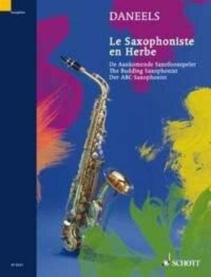 Le saxophoniste en herbe Exercices pour la 1ère année / Daneels François / Schott