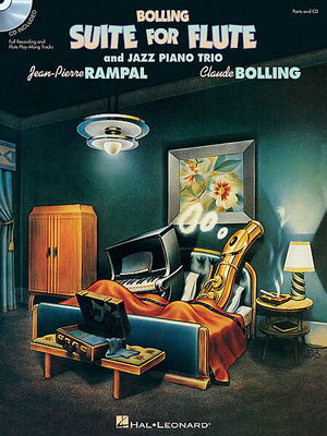 Claude Bolling: Suite For Flute And Jazz Piano Trio (Book And CD) / Bolling, Claude (Composer); Rampal, Jean-Pierre (Composer) / Hal Leonard