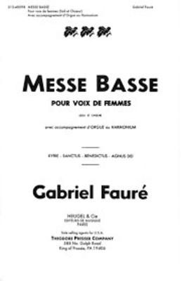 Messe basse / Fauré Gabriel / Heugel