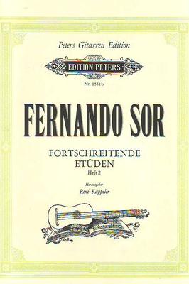 Etudes progressives op. 31/35/60, vol. 2 / Sor Fernando / Peters