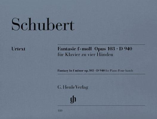 Fantaisie en fa mineur op. 103 / Schubert Franz / Henle
