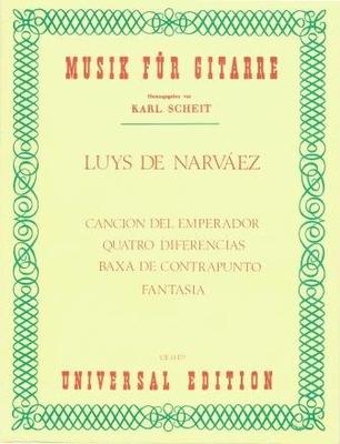 Cancion del Emperador-4 diferencias-Baxa de / Narvaez Luys de / Universal Edition