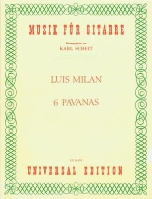 6 pavanas / Milan Luis / Universal Edition
