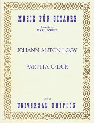 Partita en do majeur / Logy Johann Anton / Universal Edition