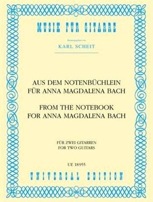 Petit livre d'A.M. BachAus Dem Notenbuchlein Fur Anna / Bach Jean Sébastien / Universal Edition