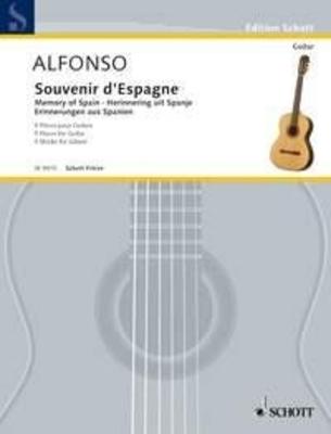 Souvenir d'Espagne, 5 pièces / Nicolas Alfonso / Schott