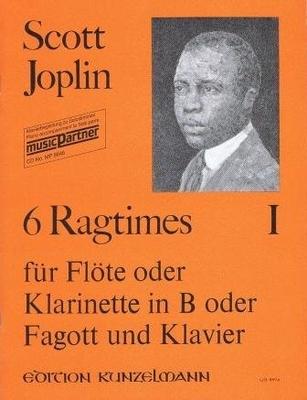 6 ragtimes, vol. 1 / Joplin Scott / Kunzelmann