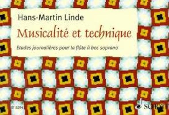 Musicalité et technique, études journalières / Linde Hans Martin / Schott