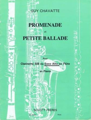 Promenade et petite ballade / Chavatte Guy / Schott