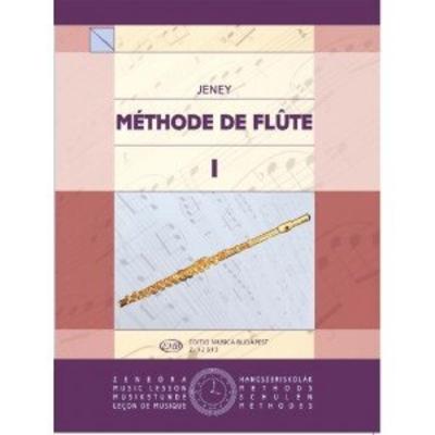 Méthode De Flûte Vol. 1 / Jeney Zoltan / EMB Editions Musica Budapest