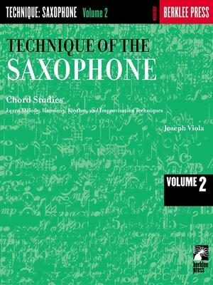 Technique of the Saxophone – Volume 2    Saxophone /  / Berklee Press