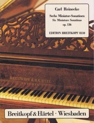 6 sonatines miniatures op. 136 / Reinecke Carl Heinrich / Breitkopf