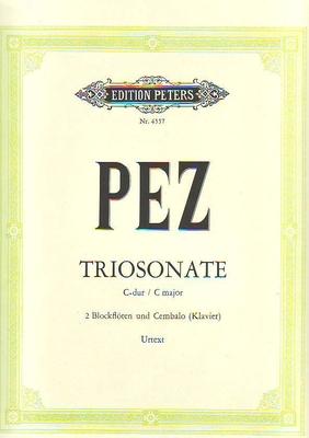 Triosonate en do majeur / Petz Johann Christoph / Peters