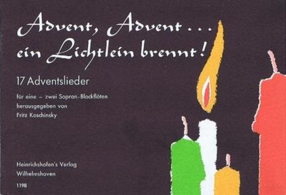 Advent, Advent… ein Lichtlein brennt  /  / Noetzel